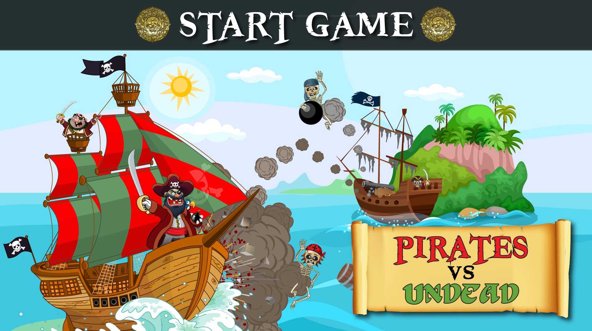 Game Test Pirates VS The Undead